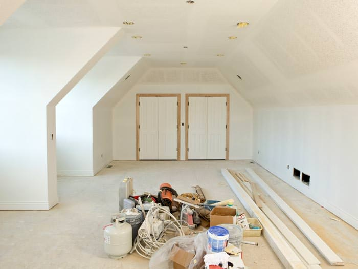 A interior paint job in progress in Westport & Interior House Painting Contractors in Stratford Greenwich ...